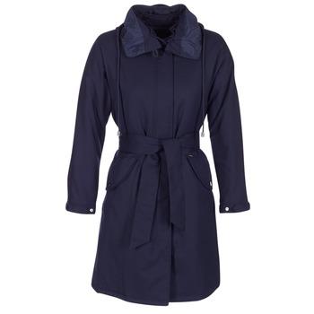 Kleidung Damen Trenchcoats Armani jeans MERCHA Marine