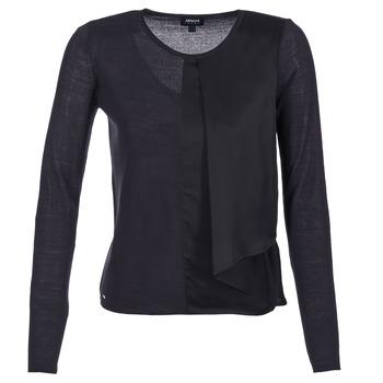 Kleidung Damen Pullover Armani jeans JAUDO Marine