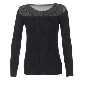 Kleidung Damen Pullover Armani jeans LAMOC Schwarz