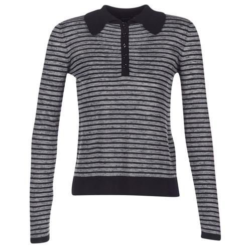 Kleidung Damen Pullover Armani jeans LAMAC Grau