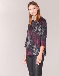 Kleidung Damen Tops / Blusen Armani jeans DRENIZ Schwarz