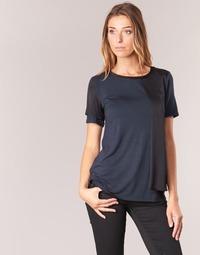 Kleidung Damen T-Shirts Armani jeans DRANIZ Marine / Schwarz
