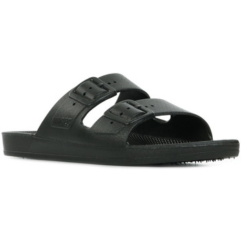 Moses Freedom Slippers Black