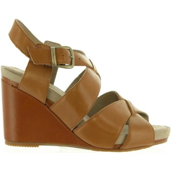 Schuhe Damen Sandalen / Sandaletten Hush puppies 560602-50 FINTAN Marr?n