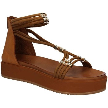 Schuhe Damen Sandalen / Sandaletten Inuovo 7387 Wedge sandals Frauen Brown Brown