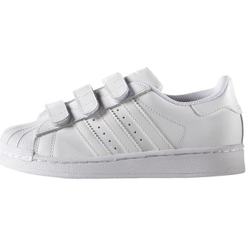 Schuhe Kinder Sneaker Low adidas Originals Superstar Foundation Schuh Weiß
