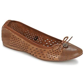 Schuhe Damen Ballerinas Tamaris  Braun