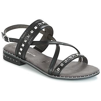 Schuhe Damen Sandalen / Sandaletten Tamaris  Schwarz