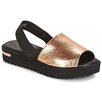 Schuhe Damen Sandalen / Sandaletten Tamaris  Schwarz / Gold