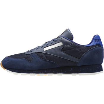 Schuhe Herren Sneaker Low Reebok Classic Classic Leather Urban Descent Blau