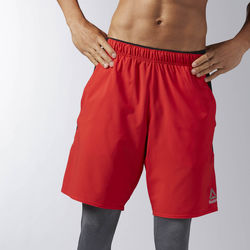 Kleidung Herren Shorts / Bermudas Reebok Sport Workout Ready Woven Shorts Red