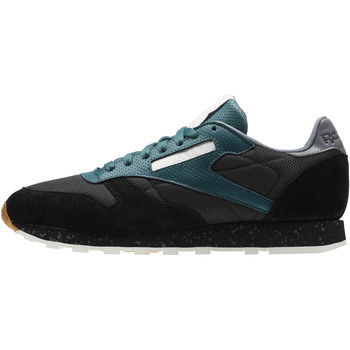 Schuhe Herren Sneaker Low Reebok Classic Classic Leather Urban Descent Schwarz / Grau
