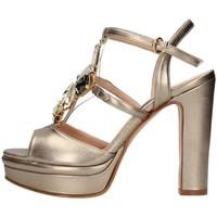 Schuhe Damen Sandalen / Sandaletten Silvana 783s Jewelel sandal Frau Champagner Champagner