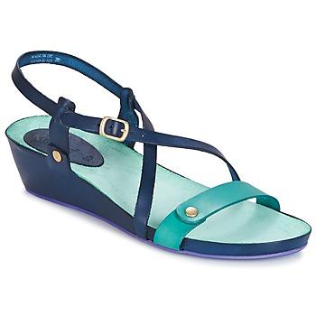 Schuhe Damen Sandalen / Sandaletten Kickers TASTE Marine / Blau / Lagune