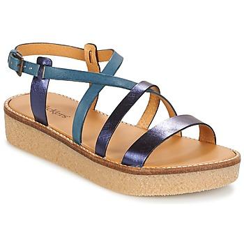 Schuhe Damen Sandalen / Sandaletten Kickers VALENTINA Blau