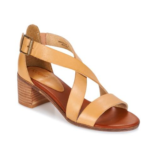 kickers voltax beige kostenloser versand bei schuhe sandalen sandaletten. Black Bedroom Furniture Sets. Home Design Ideas