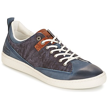 Schuhe Herren Sneaker Low Kickers SANTA FE Blau