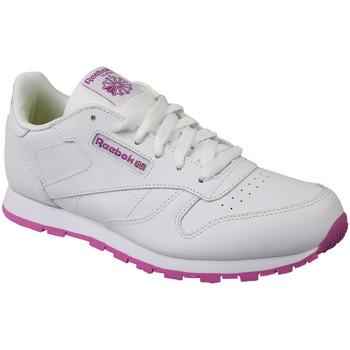 Schuhe Kinder Sneaker Low Reebok Sport Classic Leather BS8044 White