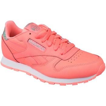 Schuhe Kinder Sneaker Low Reebok Sport Classic Leather BS8981 Rosa