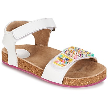 Schuhe Mädchen Sandalen / Sandaletten Kickers NAISSA Weiss