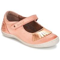 Schuhe Mädchen Ballerinas Kickers CALYPSO Korallenrot