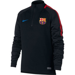 Kleidung Kinder Trainingsjacken Nike FC Barcelone Drill top Junior