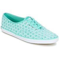 Schuhe Damen Sneaker Low Keds CH EYELET grün