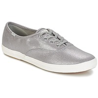 Schuhe Damen Sneaker Low Keds CH METALLIC CANVAS Silber