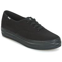 Schuhe Damen Sneaker Low Keds TRIPLE Schwarz