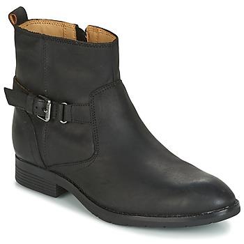 Schuhe Damen Boots Sebago NASHOBA LOW BOOT WP Schwarz