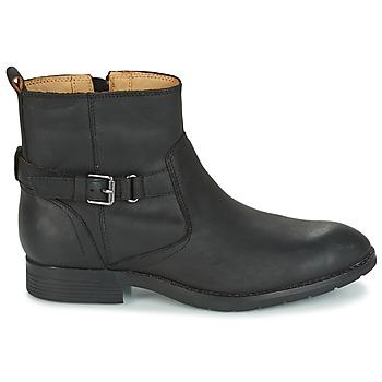 Sebago NASHOBA LOW BOOT WP Schwarz - Kostenloser Versand |  - Schuhe Boots Damen 15330