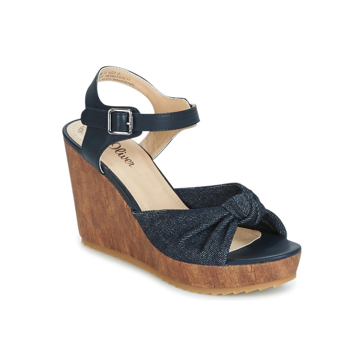 SOliver  Comb - Kostenloser Versand bei Spartoode ! - Schuhe Sandalen / Sandaletten Damen 49,00 €