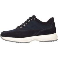 Schuhe Kinder Sneaker Low Hogan HXR00N00E112Y39999 Sneaker Kind blau blau
