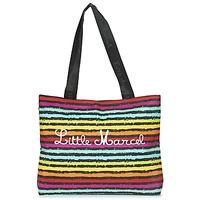 Taschen Damen Shopper / Einkaufstasche Little Marcel MIRAGE Schwarz / Multifarben