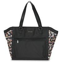 Taschen Damen Shopper / Einkaufstasche Little Marcel NUR Schwarz / Multifarben