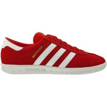 Schuhe Herren Sneaker Low adidas Originals Hamburg Golden-Rot-Weiß