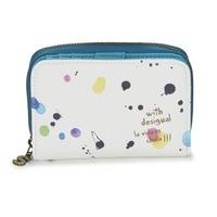 Taschen Damen Portemonnaie Desigual MAGNETIC NEW SPLATTER Weiss / Multifarben