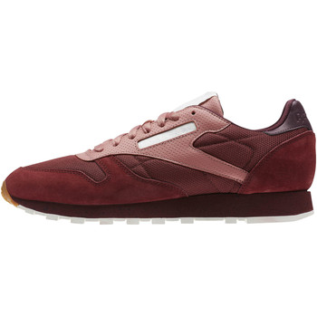 Schuhe Herren Sneaker Low Reebok Classic Classic Leather Urban Descent Rot