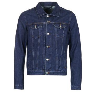 Kleidung Herren Jeansjacken Yurban HEDEM Blau