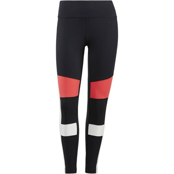 Kleidung Damen Leggings Reebok Sport Lux Color Block Leggings Schwarz
