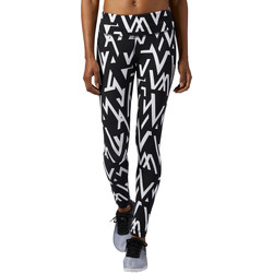 Kleidung Damen Leggings Reebok Sport Workout Ready Printed Leggings Schwarz