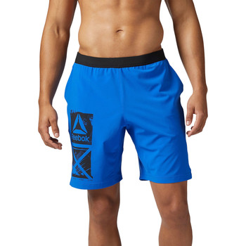 Kleidung Herren Shorts / Bermudas Reebok Sport Graphic Speed Shorts Blau