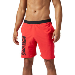 Kleidung Herren Shorts / Bermudas Reebok Sport Graphic Speed Shorts Red
