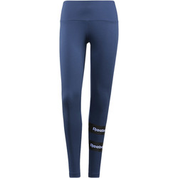 Kleidung Damen Leggings Reebok Classic Stripe Leggings Blau