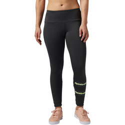 Kleidung Damen Leggings Reebok Classic Stripe Leggings Schwarz
