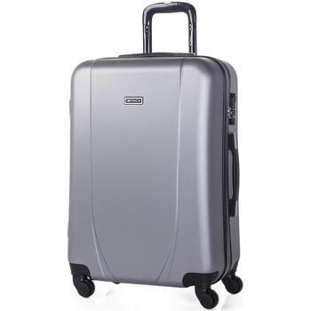 Taschen Hartschalenkoffer Itaca Tiber Silber