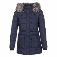 Kleidung Damen Daunenjacken Only NEW OTTOWA Marine