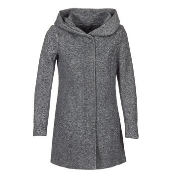 Kleidung Damen Mäntel Only SEDONA Grau