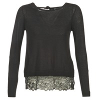 Kleidung Damen Pullover Only SHIRLEY Schwarz