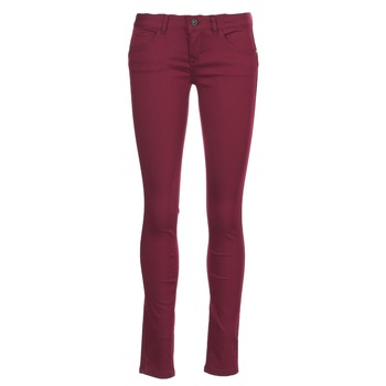Kleidung Damen 5-Pocket-Hosen Only LUCIA Bordeaux